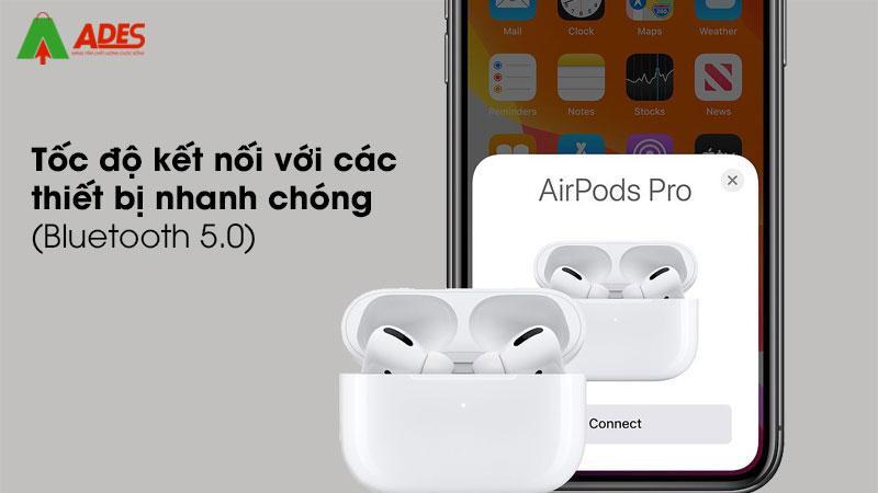 Cam bien luc giup kiem soat tren tai nghe cung nhieu tinh nang nang cao: Siri, Ar