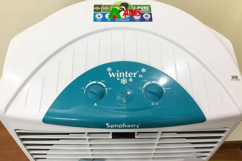 Hinh anh thuc te Quat dieu hoaSymphony Winter XL